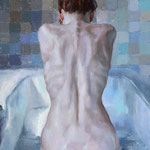 Bather…..Eric Wallis…..oil on Canvas..2000