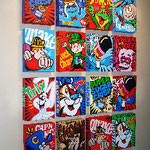 Ceral Boxes originasl on canvas