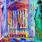 New York Stock Exchange 26.5x30 $4400 serigraph