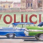 Revolution 26 X 48 watercolor    $2500