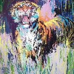 Bengal Tiger 42x31 $8400 serigraph