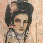 Sugar Coated Dreams 24x24 $700 acrylic on canvas