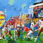 In The Pocket (Redskins vs. Broncos) 28x38 $7875 serigraph