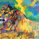 Resting Lion 26.75x36 $4200