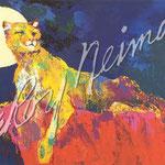 Cougar 19.5x30 $5460 serigraph