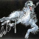 Borzoi 24x28 $4200 serigraph