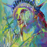 Portrait of Liberty 38x28.5 $3990 serigraph
