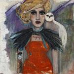 """Buena Vista by Teresa Magel, 36x 36"""", $1600"""