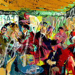 Cafe Rive Gauche 28x38 $4200 serigraph