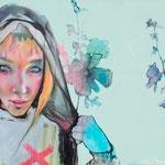 Xela, Mixed Media on Canvas