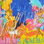 Samba Samba 30x42 $3150 serigraph