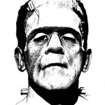 "Frankenstein - Pen and Ink - 18"" x 24"" Original Art $650.00 *Prints available (limited to 250 prints 11"" x 14"" $20.00)"