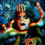 "Alice Cooper Comic Biography Cover art - Digital - 13"" x 19"" Prints available limited to 200 in the series - $25.00"