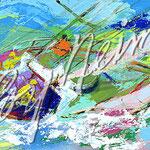 Yawl Sailing 17.5x35 $6825 serigraph