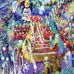 Mardi Gras Parade 36x24 $3990 serigraph