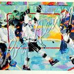 Gretzky's Goal 27.5x36.5 $4200 serigraph