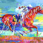 Funny Cide 22.5x34 $3675 serigraph