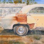 Rustic Door County  28 X 32  Watercolor   $2000