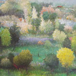 "Spring, David Gross, Oil on Canvas, 25""x 31"", $1500"