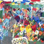 Bistro Garden 23.75x36 $7140 serigraph