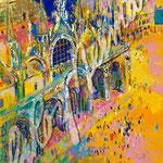 Piazza San Marco 26x20 $1575 lithograph
