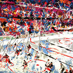 Slap Shot 22x28.5 $4200 serigraph