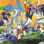 Cowboys - Bills Super Bowl 28.5x38 $7875 serigraph