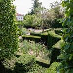 jardin domaine Le Chatel, Beaulieu-en-Argonne
