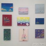 ギャラリー檜「interactive -YOUTH-」出展風景 2013年1月
