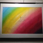 「拝啓」ギャラリィトウキョウジョウ「その後の風景」出展 画用紙にアクリルガッシュ、鉛筆  455mm×380mm(F8)2012年12月