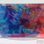 「モニュメント #10」 ギャラリー檜「interactive-YOUTH-」出展 アクリル板に水性塗料 W227×H158×D80mm 2014年2月