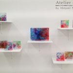 「モニュメント」 ギャラリー檜「interactive-YOUTH-」展示風景 2014年2月【一部個人蔵】