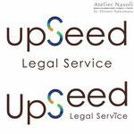 「アップシード法務事務所」ロゴデザイン 2015年