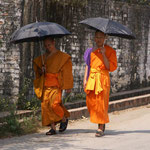 Mönche in Luang Prabang (Laos)