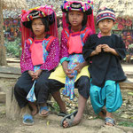 Bei den Bergvölkern in Nordthailand