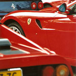 Ferrari 512 BB + 599 GTB Fiorano + 550 Maranello + F355 Spyder