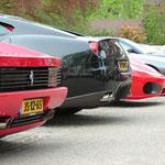 Ferrari 512 TR + 599 GTB Fiorano + F430 Spyder + 575 Superamerica + 550 Maranello + 612 Scaglietti + 365 GTC-4 + 250 GT Boano