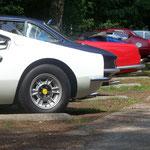 Ferrari 246 GT Dino + 330 GT 2+2 + 250 GT PF Cabrio Serie II + 365 GTB-4 Daytona + 250 GT PF Coupe + 365 GT 2+2