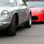 Ferrari 365 GTC 2+2 + F430 Spyder