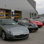 Ferrari 612 Scaglietti + 575M Maranello + 550 Maranello + F430 Spyder (2x) + 599 GTB  Fiorano + 360 Modena + F355 Berlinetta