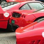 Ferrari 275 GTB + Enzo + F40