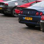 Ferrari 456 + 550 Maranello + 348 TS + F430 + 550 Maranello + F355