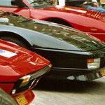 Ferrari 308 GTB + Testarossa + Mondial