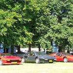 Ferrari 208 GTB + Mondial + 328 GTS