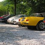 Ferrari 365 GTS-4 Spyder + 330 GTC + 250 GT SWB + 330 GT 2+2 + 330 GTC