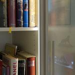Bücherschrank mit Licht