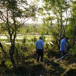 Sommersonnenwende, nicht in Schweden sondern im Landkreis Vechta.