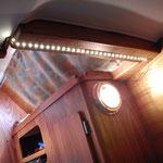 éclairage cabine arrière