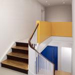 Treppenaufgang zum Institut
