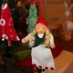Weihnachtswichtelfrau